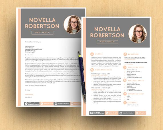 Photograph DIY Neat Modern Microsoft Word Printable by Inkpower - google resume template free