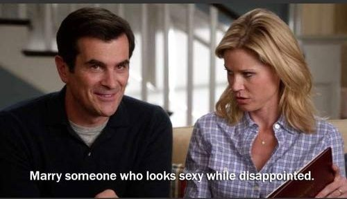 Claire Dunphy Marriage Memes Modern Family Quotes Marriage Humor