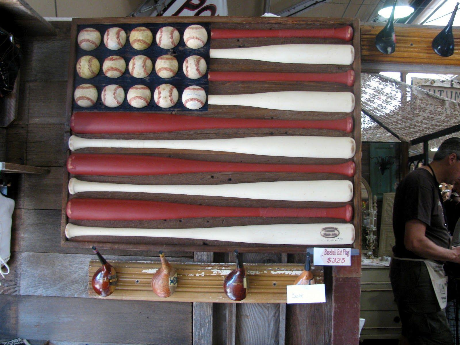 Baseball Painted Furniture Baseball Bats And Balls Re