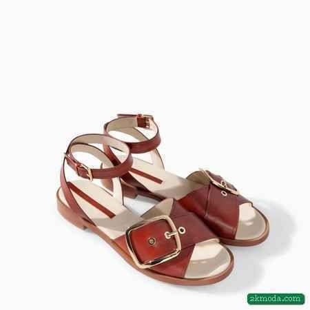 Nice Zara 2014 Yazlik Terlik Modelleri Zara Terlik Sandalet