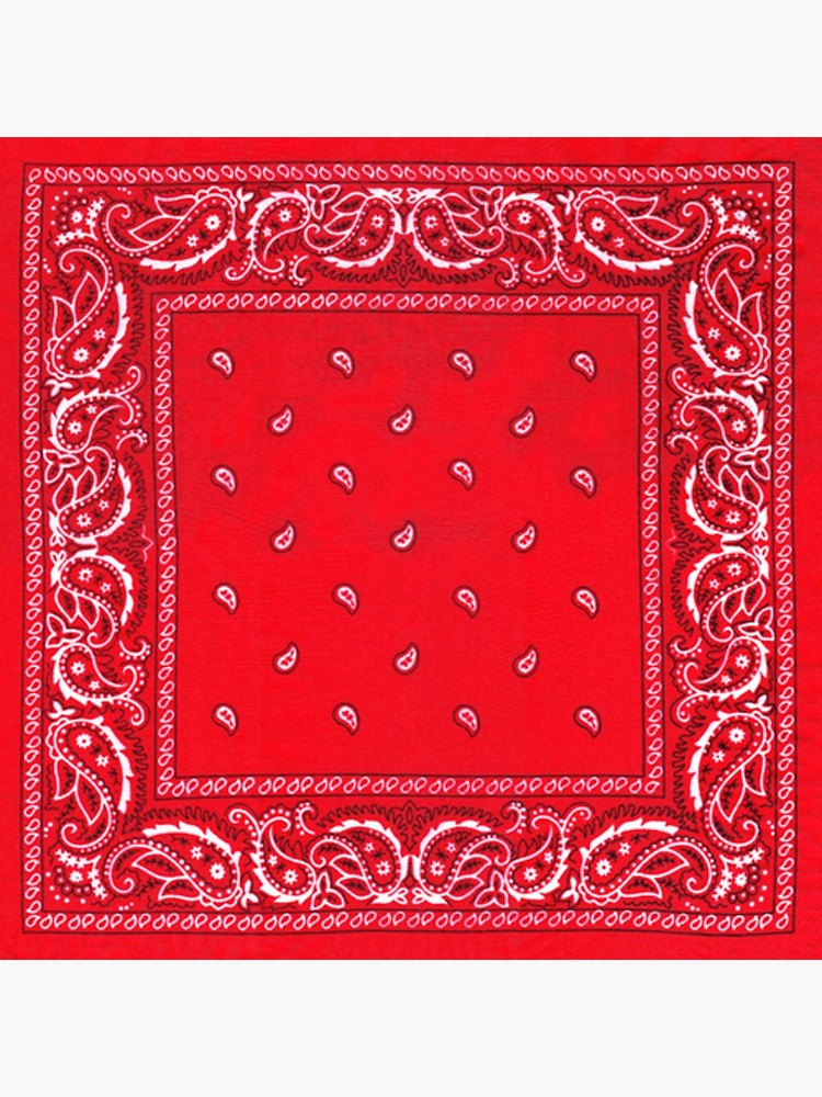 Red Bandana Poster By Slade Ftp In 2021 Red Bandana Red Wallpaper Red