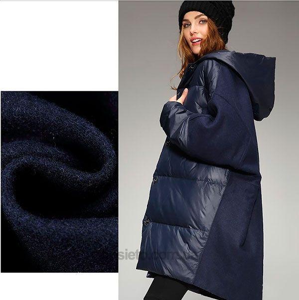 Пальто-пуховик Oversize c капюшоном от Flora   down   Coat, Jackets ... 0aa1be551e6