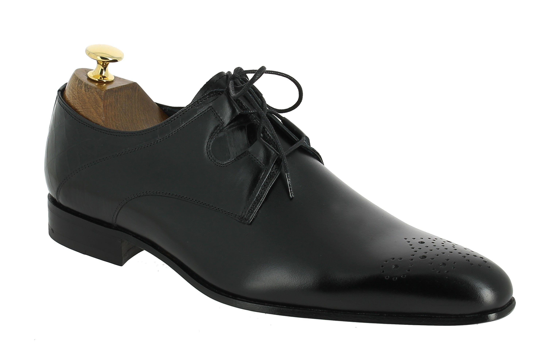Center 51 vous présente le modèle Derbie Paco Milan 3881 cuir noir à 110,00 d8ddcd740e83