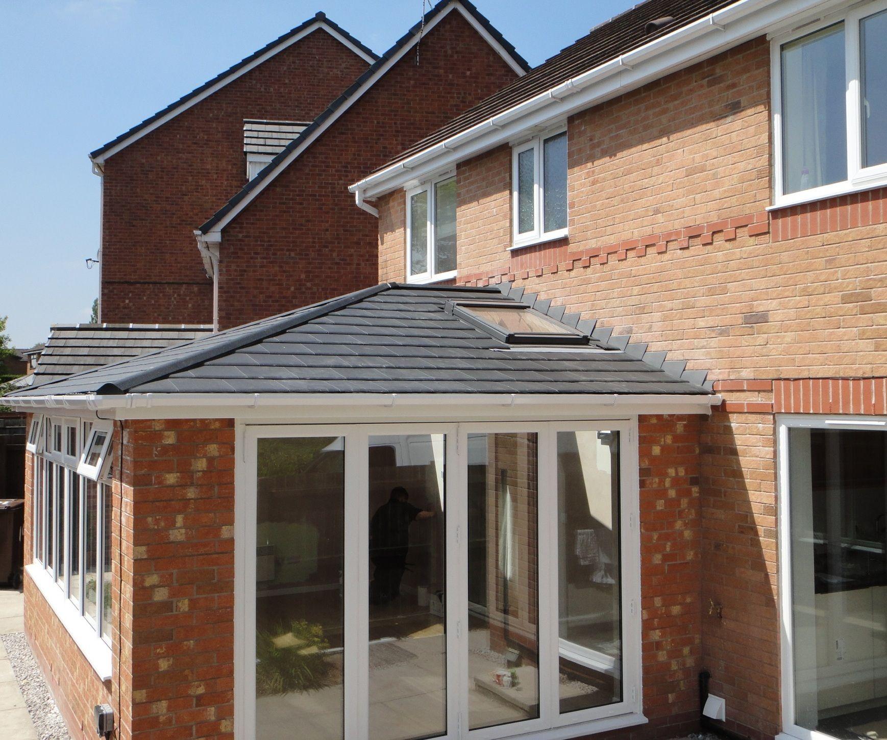 Replace your existing conservatory roof with a garden room for Room extension plans