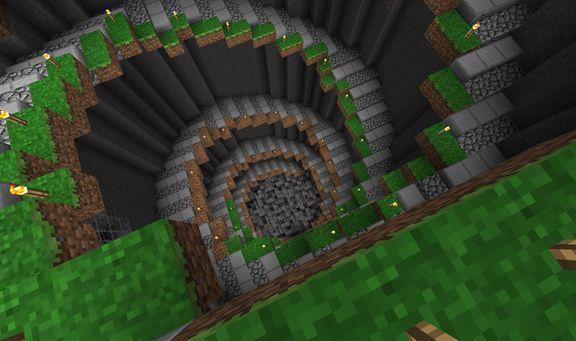Pix For Minecraft Spiral Staircase Design Minecraft Crafts Diy Minecraft Minecraft Houses