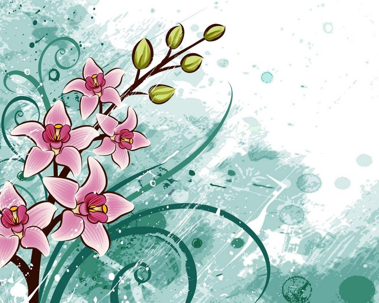 Добрым утром, картинка с цветами рисунок