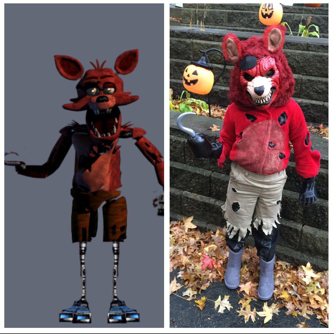 Fnaf Five Nights At Freddy S Foxy Halloween Costume Bonfires