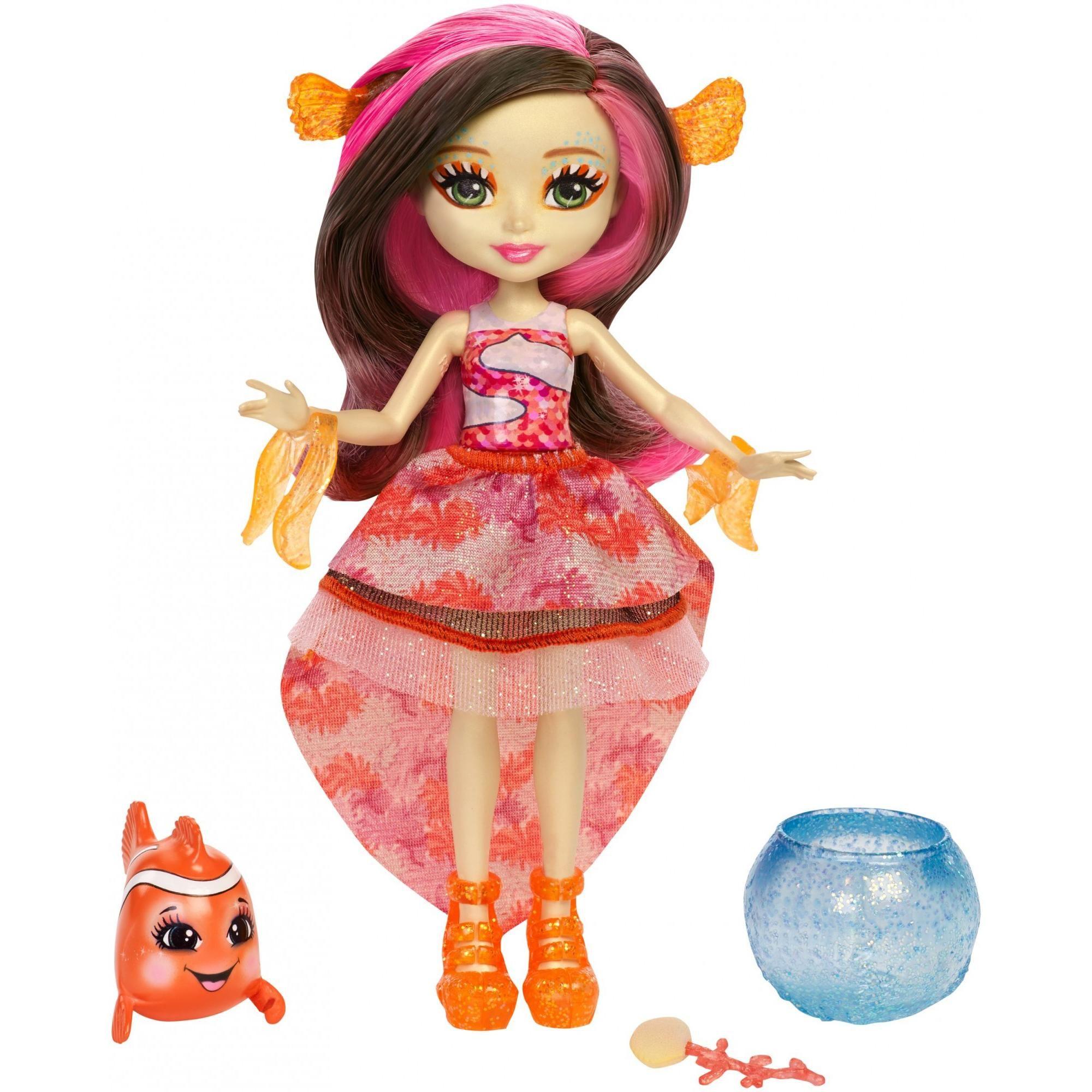 Mattel Enchantimals Cameo Crab Chela and Courtney 3+