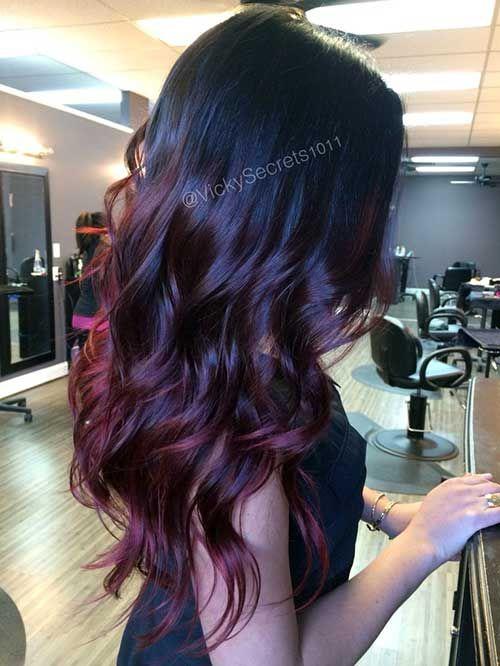 43 Fotos De Ombre Hair Vermelhos Tutorial Passo A Passo Ideias