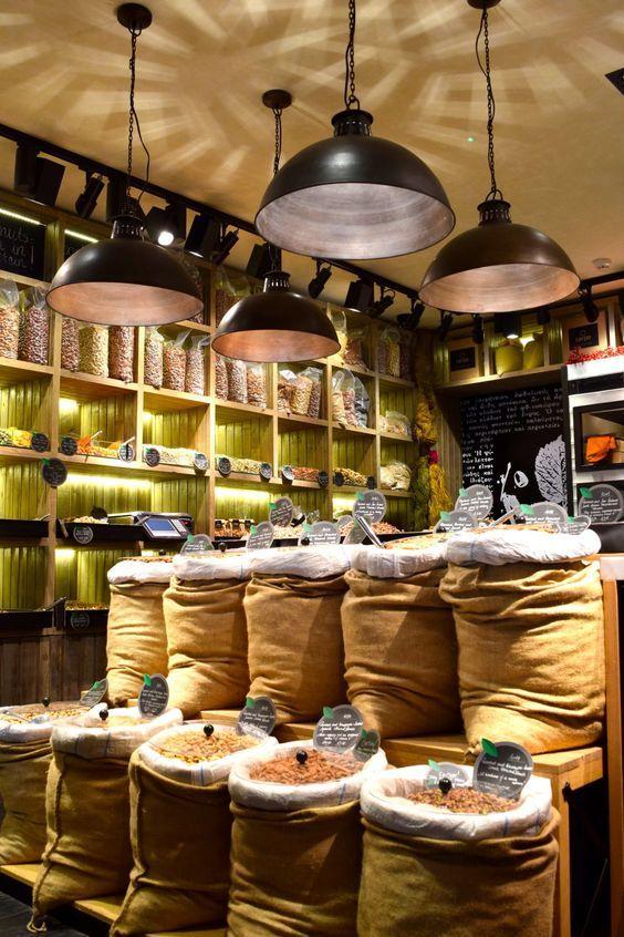 ENVASES ECOLÒGICOS en 2020 Diseño interior de tienda