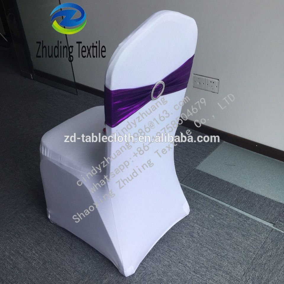 spandex chair covers cheap shower wheel white sashes for sale
