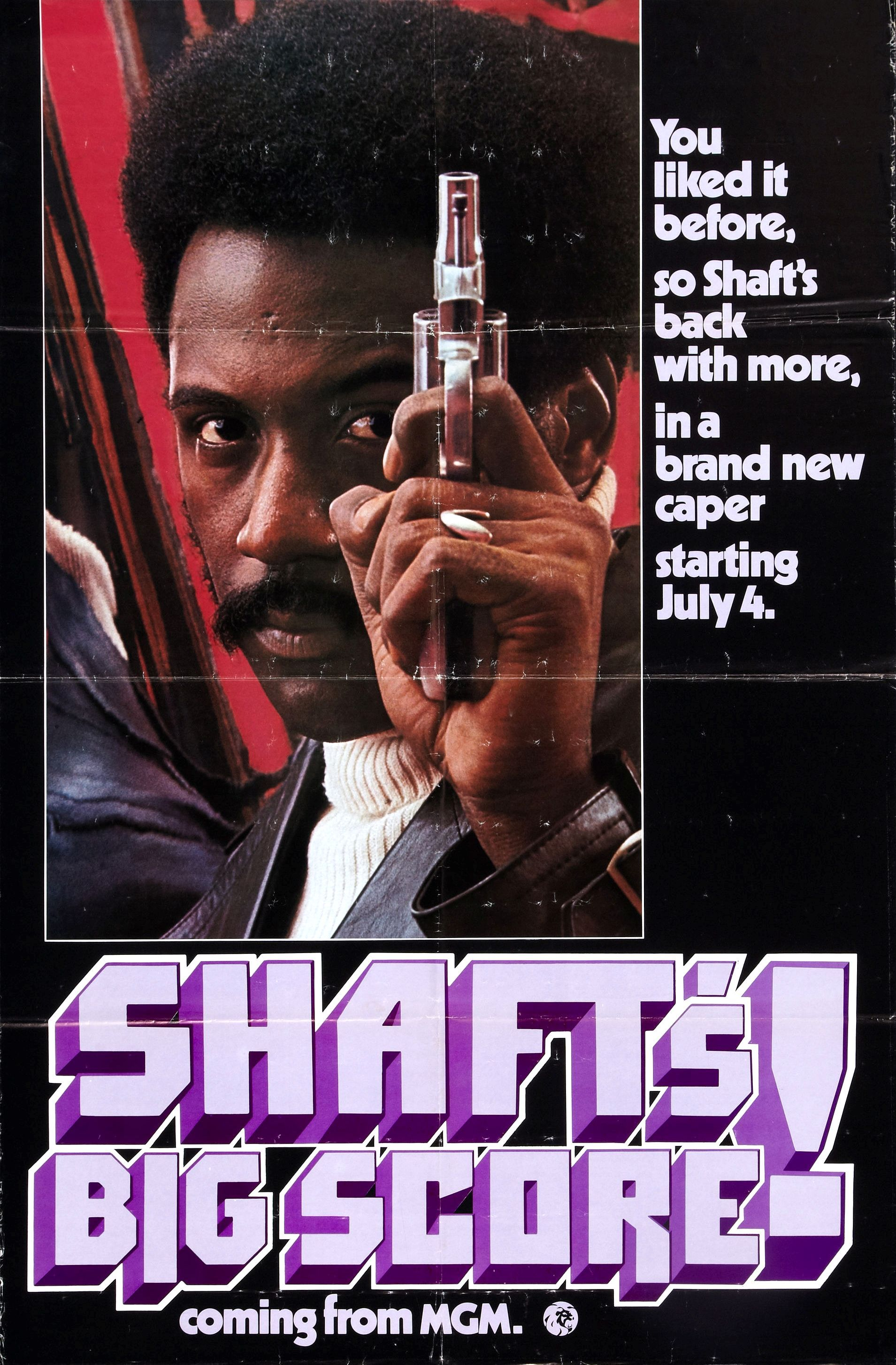 Shaft S Big Score 1972 Action Film Directed By Gordon Parks It Is