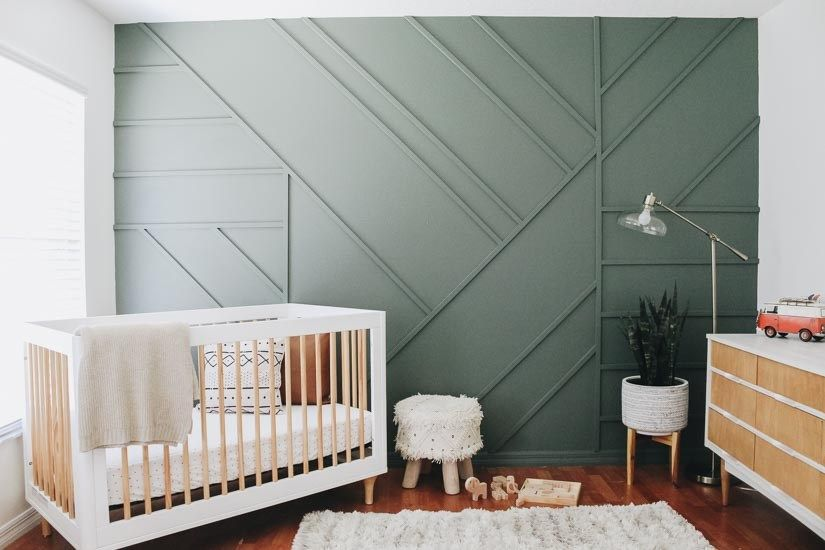 Photo of Creating a Modern Wood Accent Wall – Within the Grove
