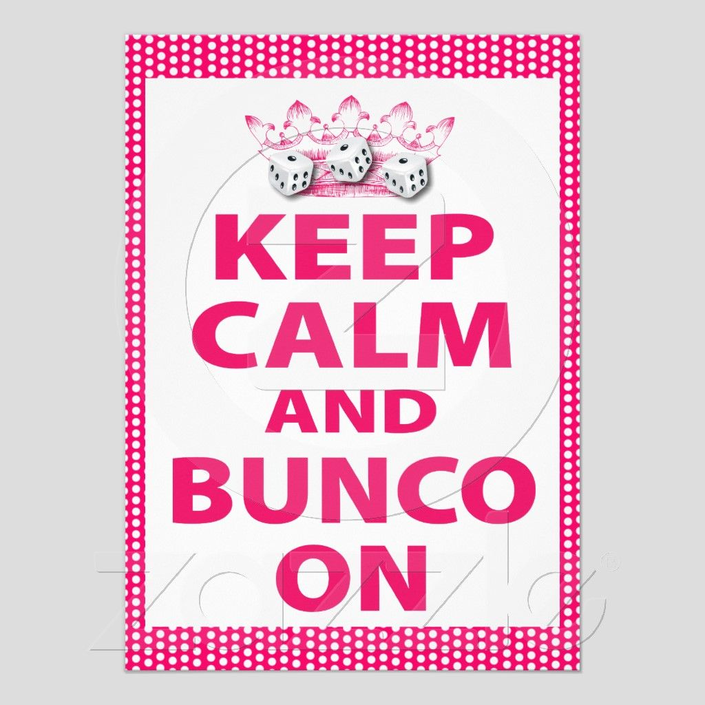 Fun Bunco Invite For A Fun Bunco Theme Bunco Party Pinterest