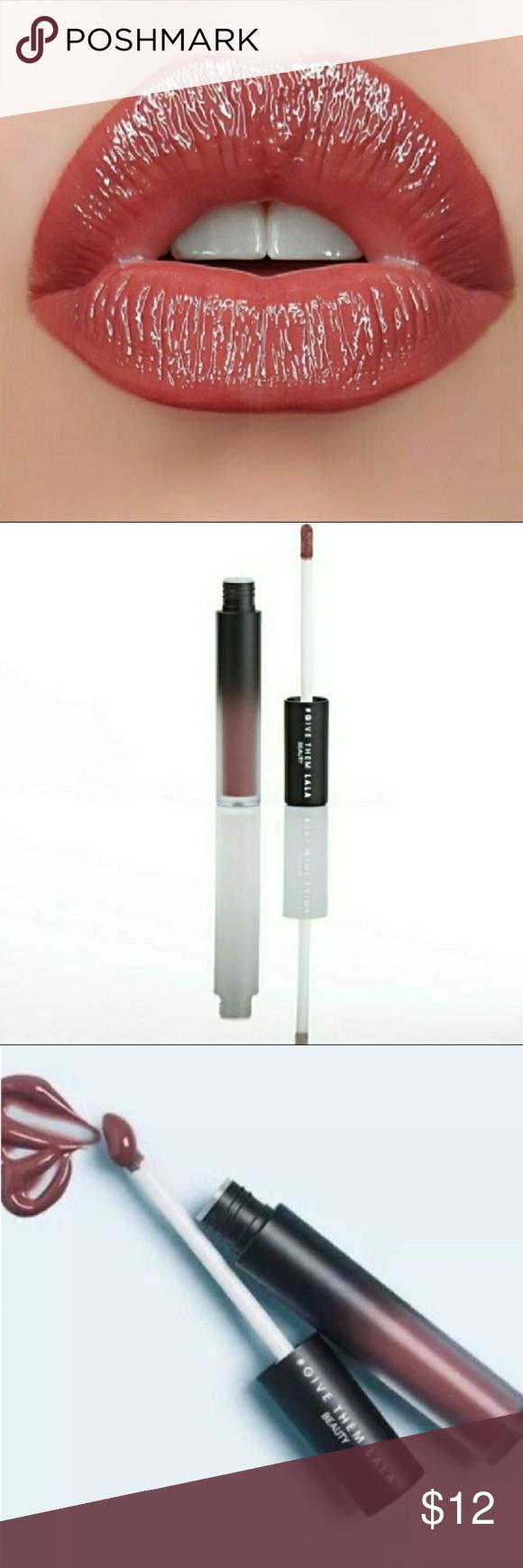 Give them lala beauty the affair lip gloss NWT Lip gloss