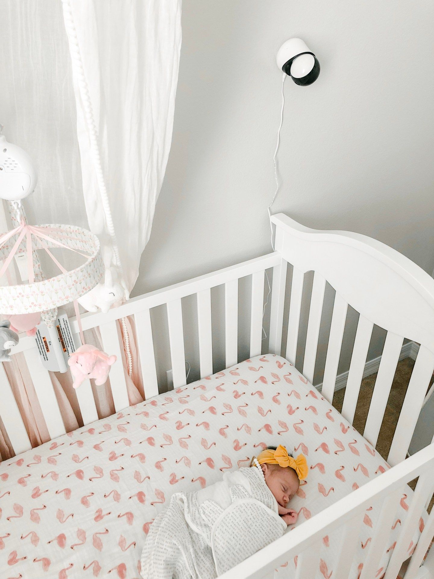 Smart Beat Video Baby Monitor With Breath Detection Baby