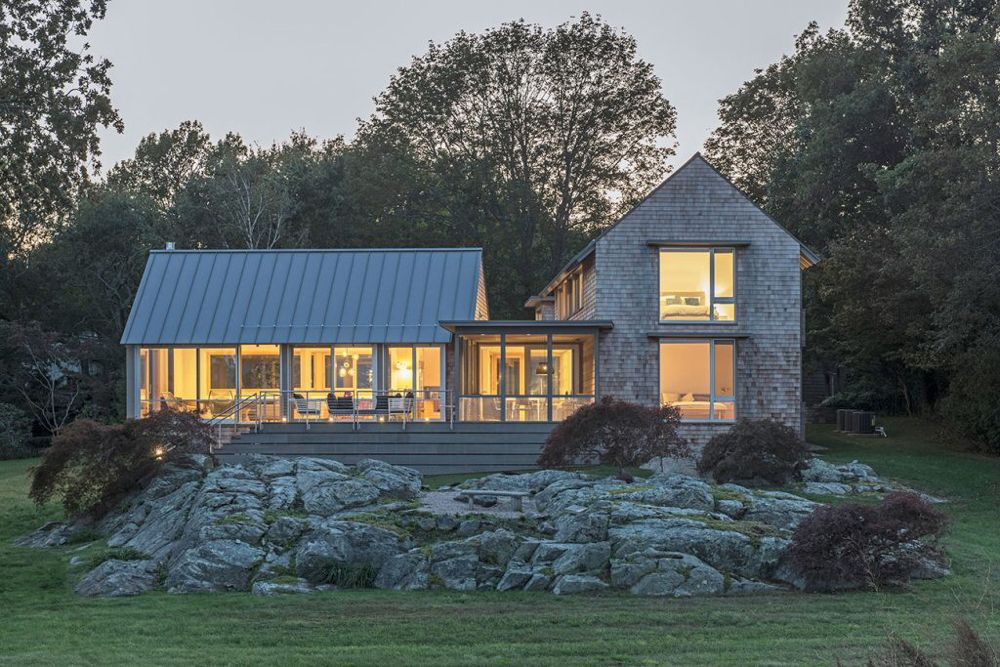 These Architects Put a Fresh Spin on New England Beach