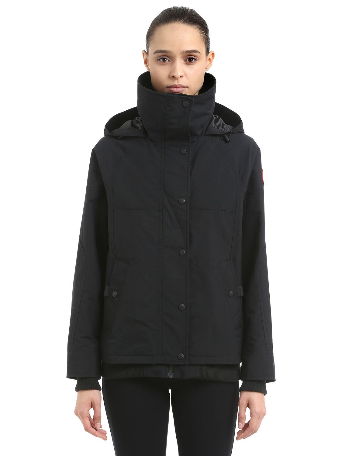 canada goose chinook hooded jacket canadagoose cloth canada rh pinterest com