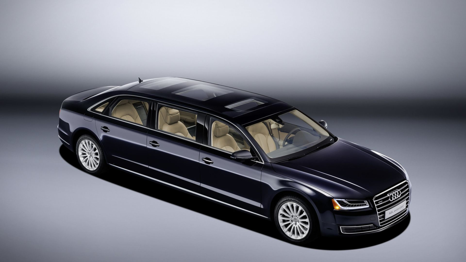 Audi stretches #A8L even further for six-door one-off | Luxury Cars