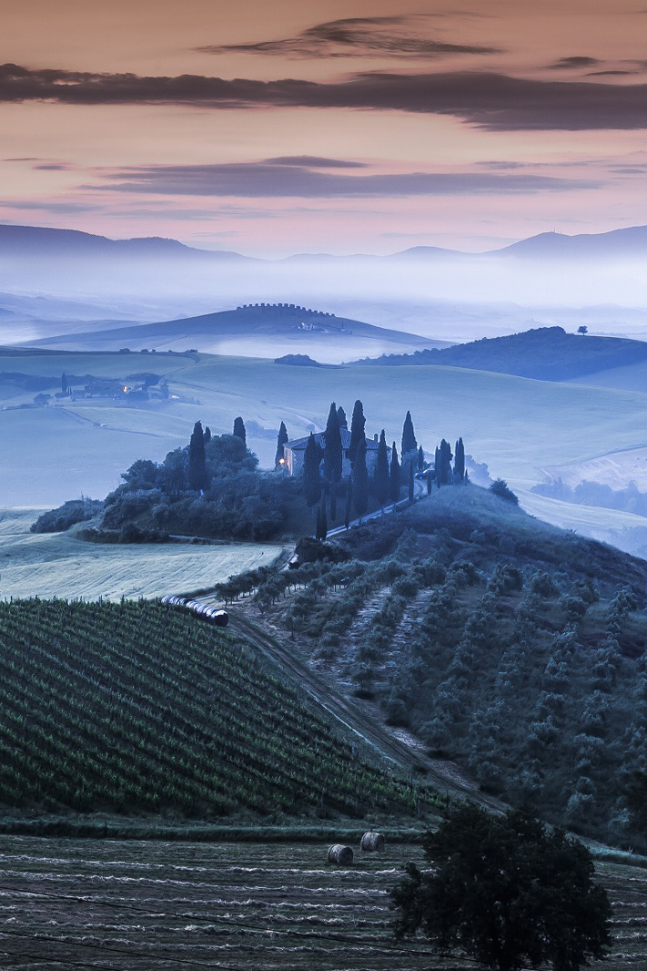 Tuscany, Italy, by  Frederic Huber, on 500px.