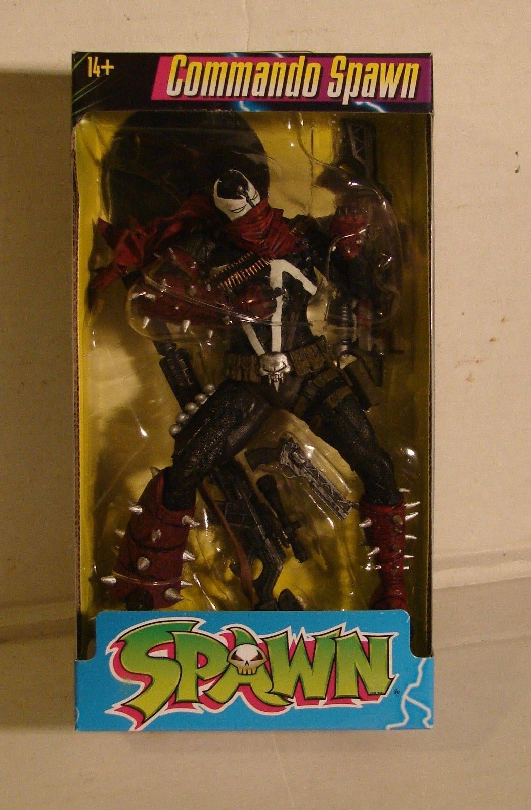 "Commando Spawn 7/"" Collectible Action Figure"