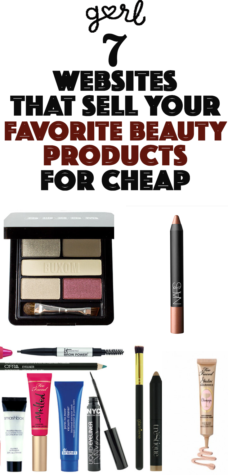7 Websites That Sell Your Favorite Expensive Beauty