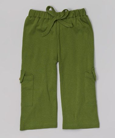 Basil Organic Cargo Pants - Infant #zulily #zulilyfinds