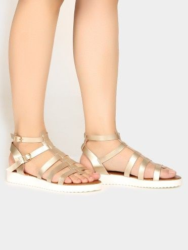 Cai Multi Strap Gladiator Sandals With Images Girls Shoes Online Women Shoes Girls Shoes