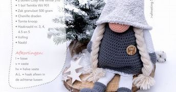 Cutedutch Patroon Cal2017 Tomtepdf Crochet Pdf Crochet