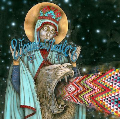 Wounded Healer cover art - The Followers 70's rock, folk