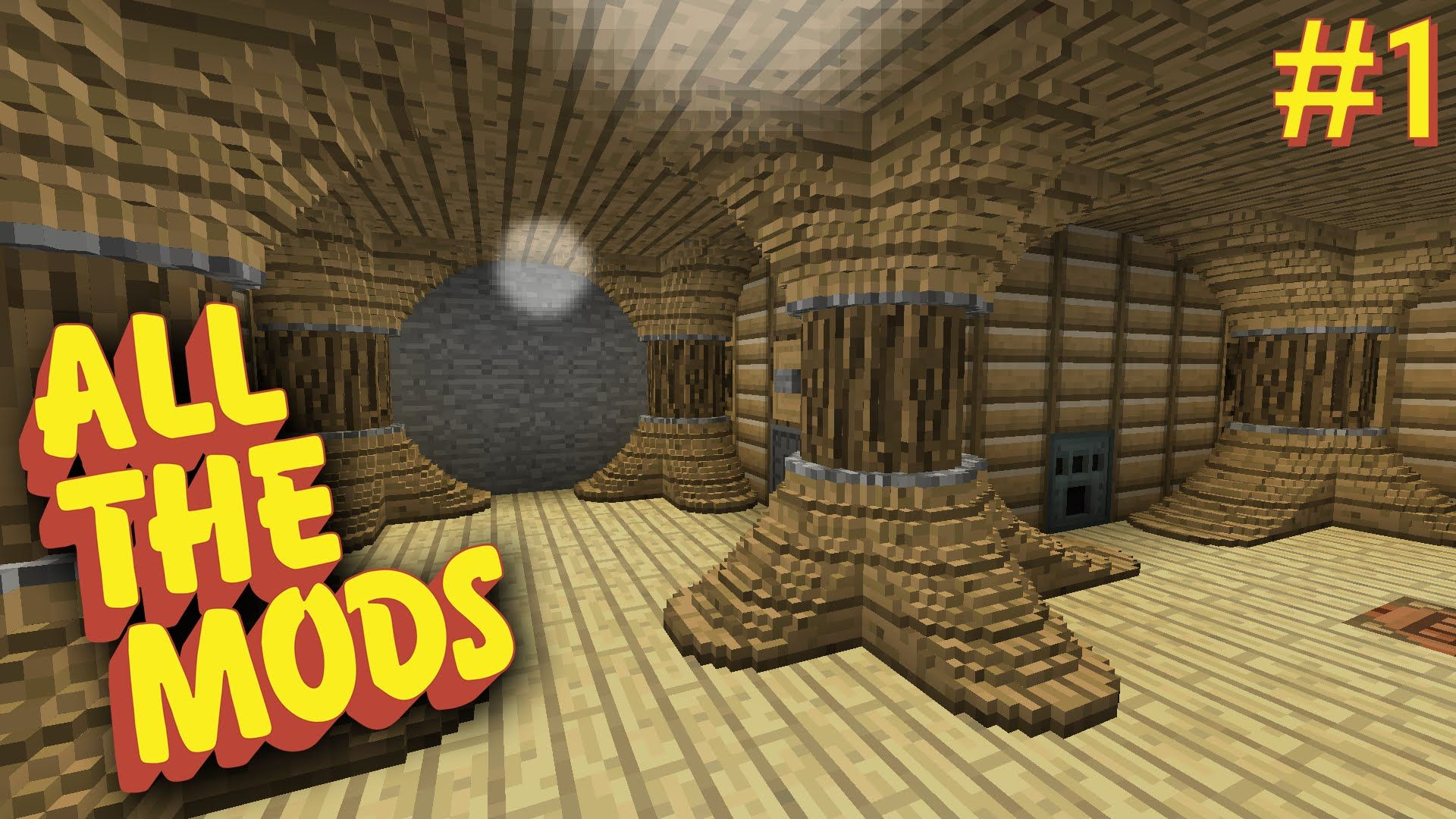 All the Mods - E01 - Actually Additions, Roots, and Chisels