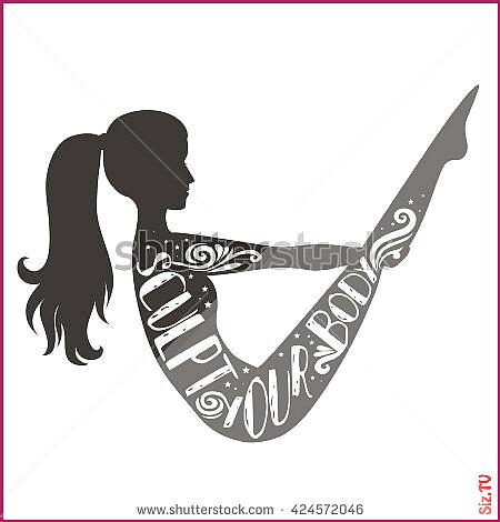 inspirational motivational illustration sportfitness typographic lettering fitness sculpt studio tsh...