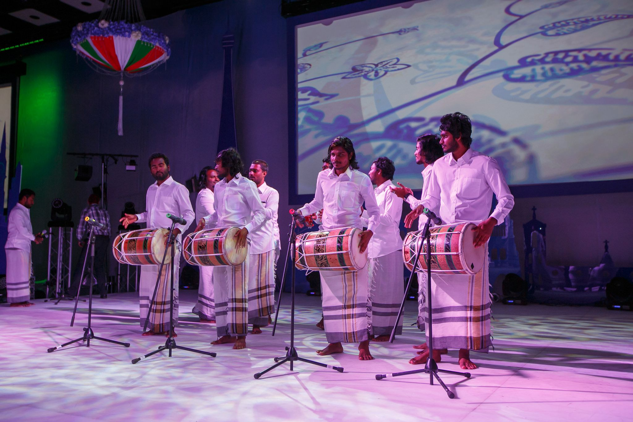 Maldives themed wedding, Maldives' musicians