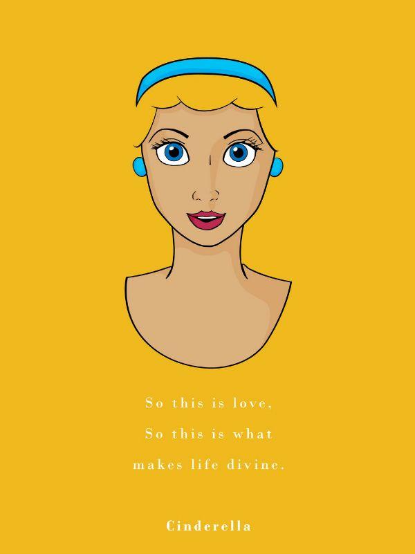 Frase Cinderela Disney Princesa Cinderela Desenhos De Princesa Da Disney