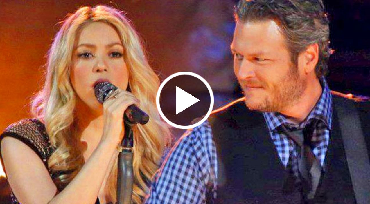 Blake Shelton And Shakira Need You Now Private Concert Need