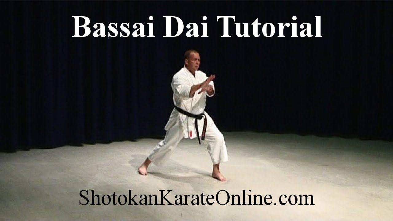 Shotokan Karate Video Bassai Dai Tutorial Ossu With Images
