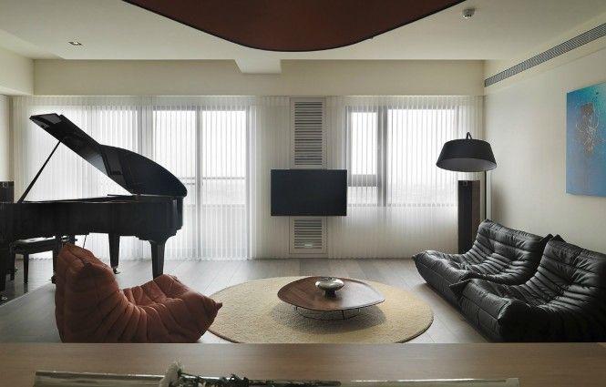 Sari sari simple layout and punchy palette apartment