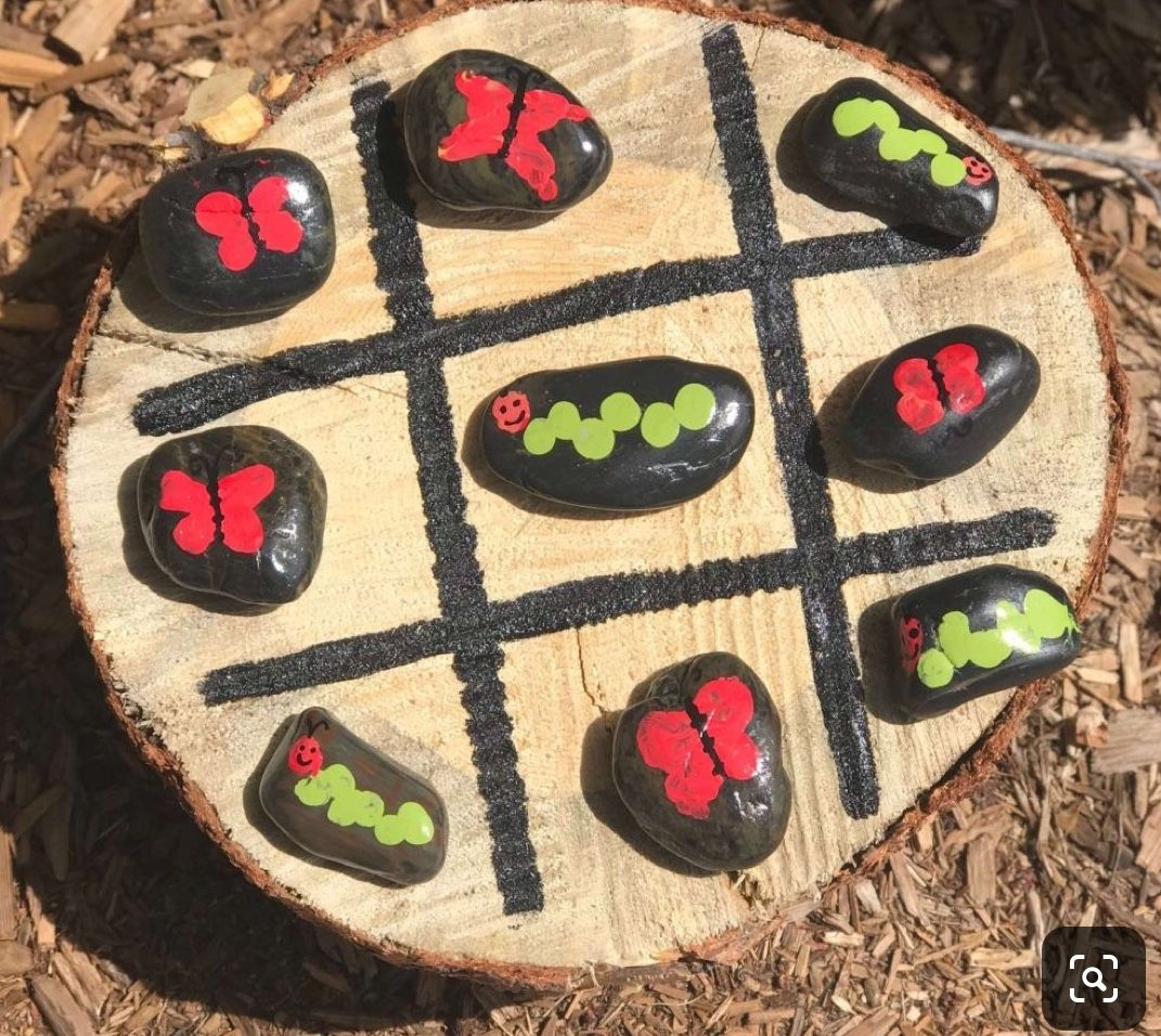 Pin On Bugs And Insects Painted Rocks
