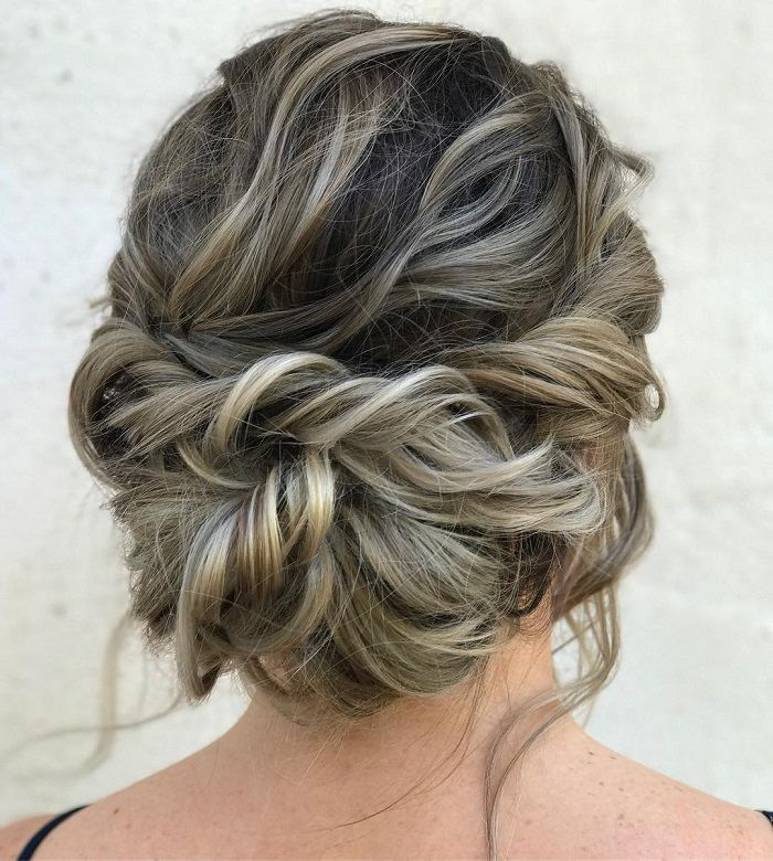 Messy Updo Hairstyles Captivating Messy Updo Hairstylesbraided With Messy Updo Hairstyle Ideas