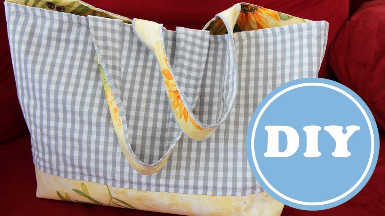 Lebensmittel gut nach Hause tragen - vom Markt oder von Supermarkt - in einer Tasche die innen auswaschbar ist und die richtige Grösse hat. Zu unserem Schnit...