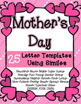 mothers day similes