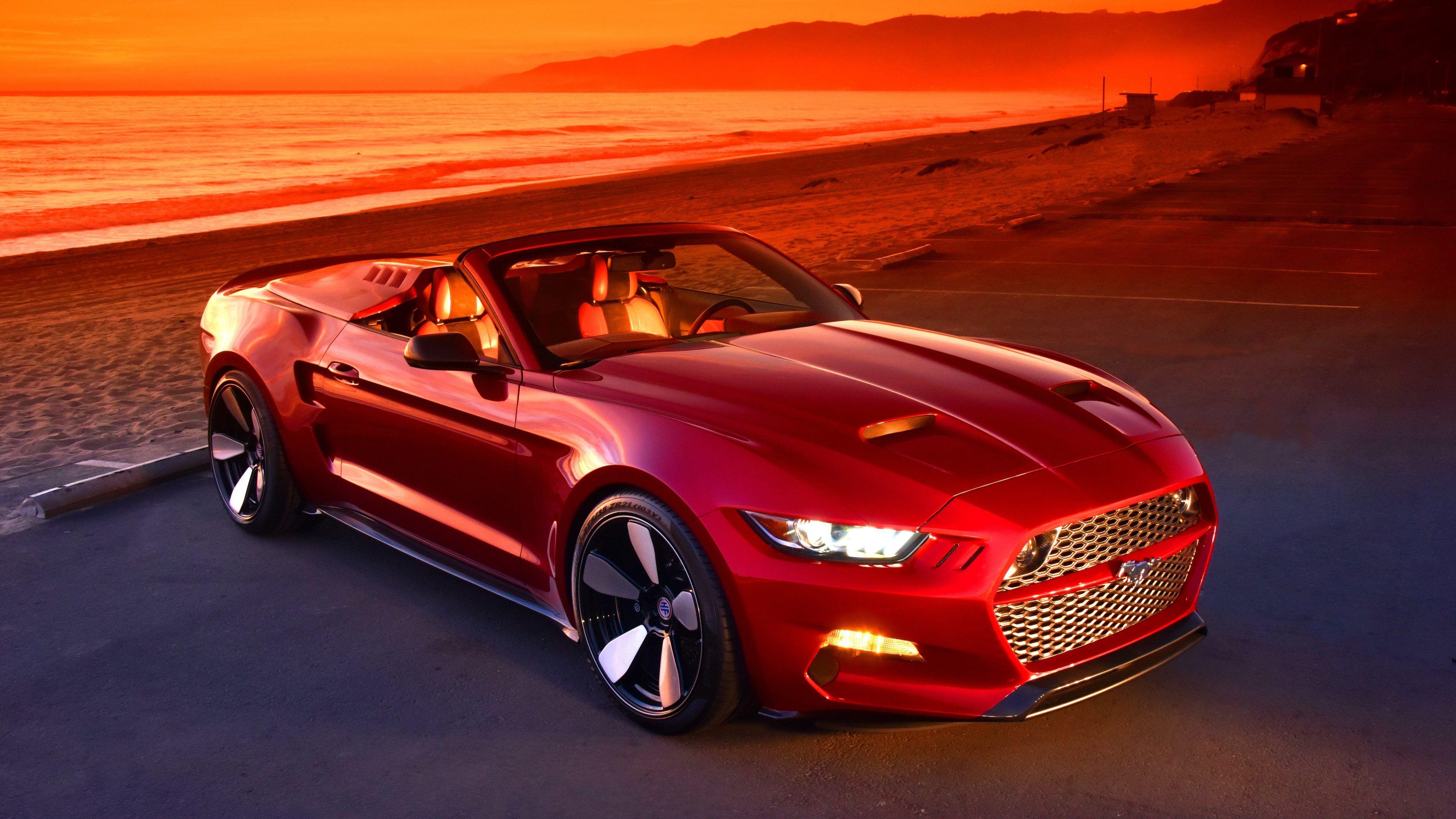 Wallpaper 4k Red Mustang 5k 4k Wallpapers 5k Wallpapers Cars