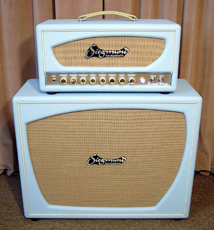 siegmund sound king 300b tube guitar amplifier handmade shared by the lewis dream guitars. Black Bedroom Furniture Sets. Home Design Ideas