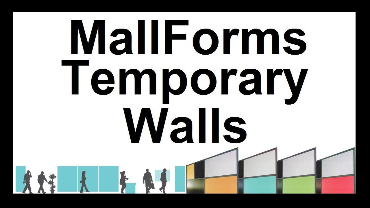 Professional, Easy To Set Up, Reusable Temporary Walls That Save 1000's ...