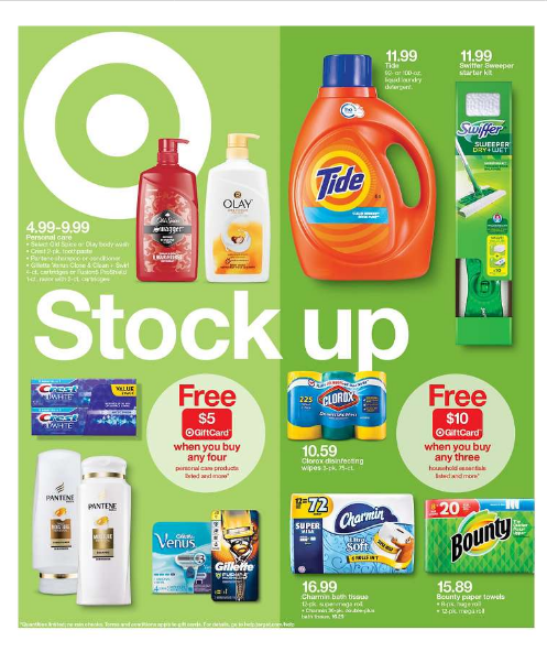 Preview Current Sunday ad Target Weekly ad Flyer available