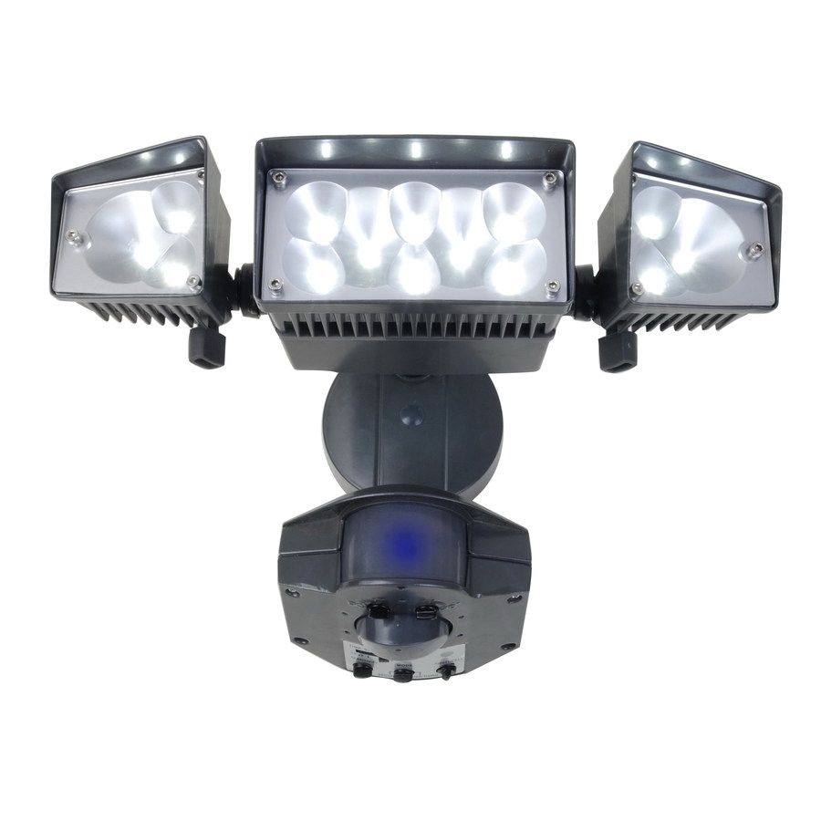Flood Light Security Camera Impressive Led Flood Light Outdoor Security Lighting  Httpscartclub Decorating Design