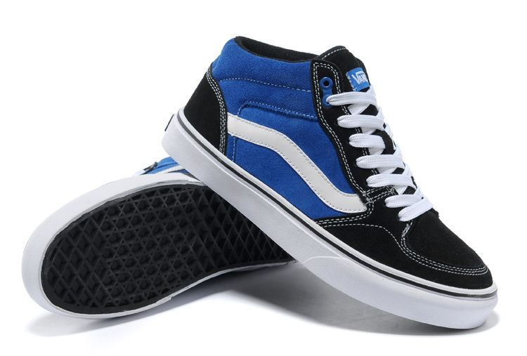 Vans Half Cab Pro Black-Blue #Vans