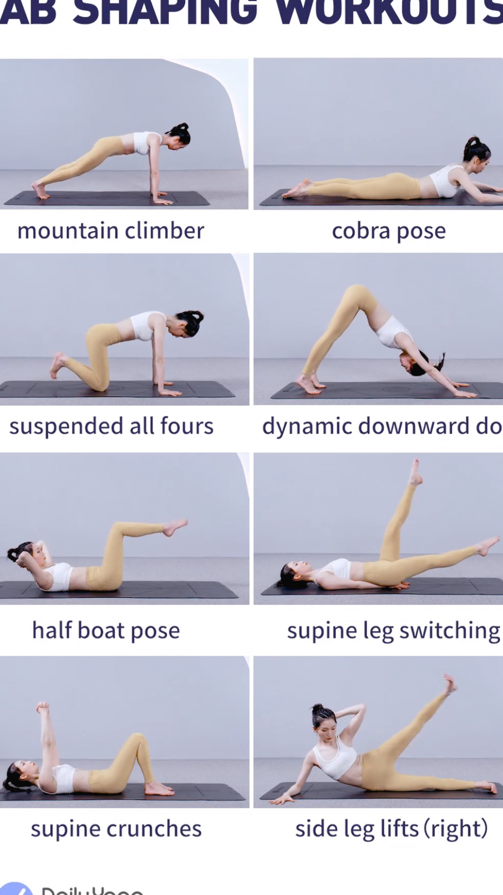 Fire up your core  build strength  and firm abs with these yoga poses  #fitness #workout #fitnesstip...