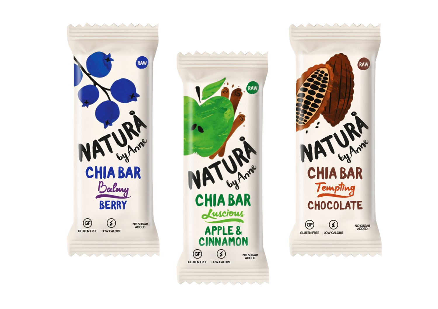 Natura by anne package design innovation news and brand for Food bar packaging