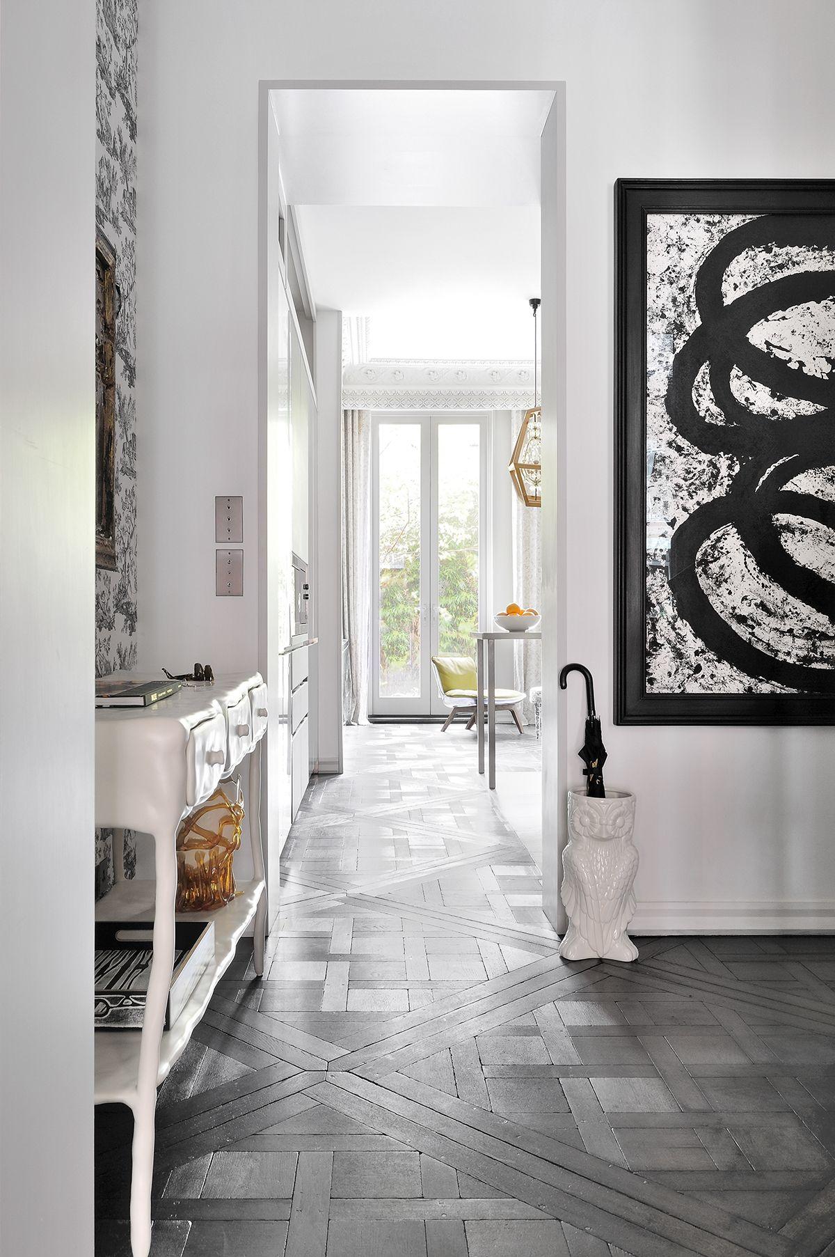 An Expansive And Playful West London Town House Internal Doors